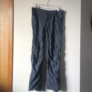 Grey Hiking Wrinkle Pants